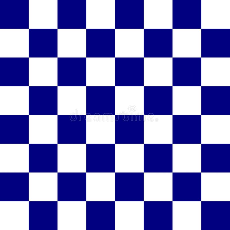 Blaues Schachbrett stockbilder