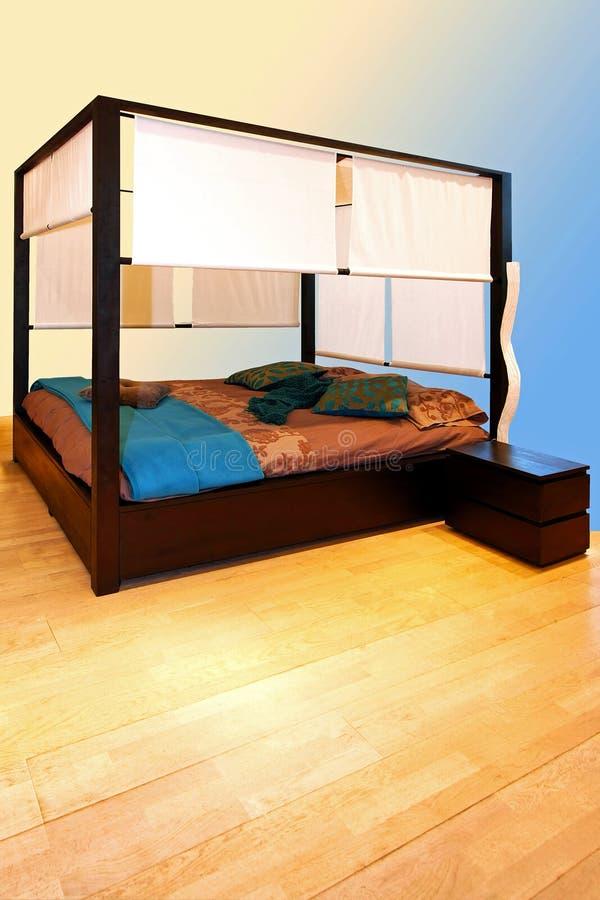 Blaues schlafzimmer stockbild bild von innen decke 14227135 - Blaues schlafzimmer ...