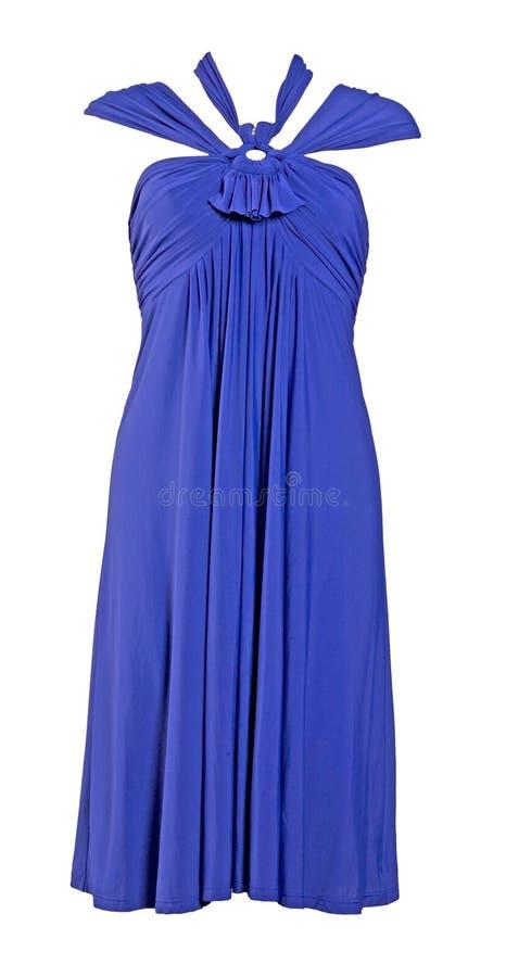 Blaues Silk Kleid Und Schuhe Stockbild Bild Von Couturen Frau 8540851
