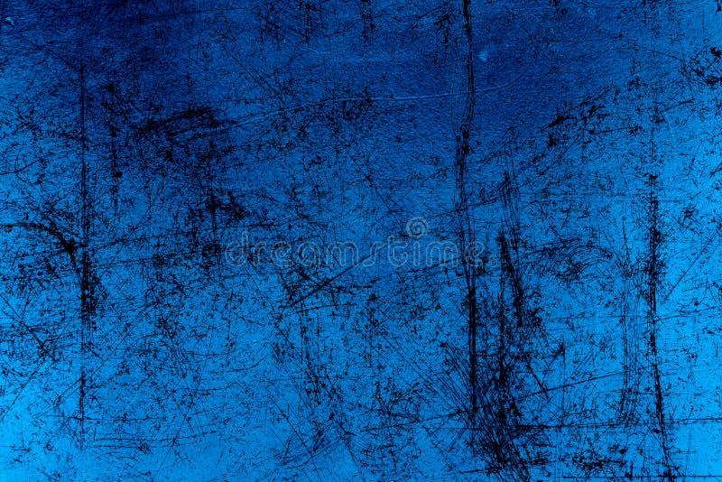 Blaues strukturiertes Pergament vektor abbildung