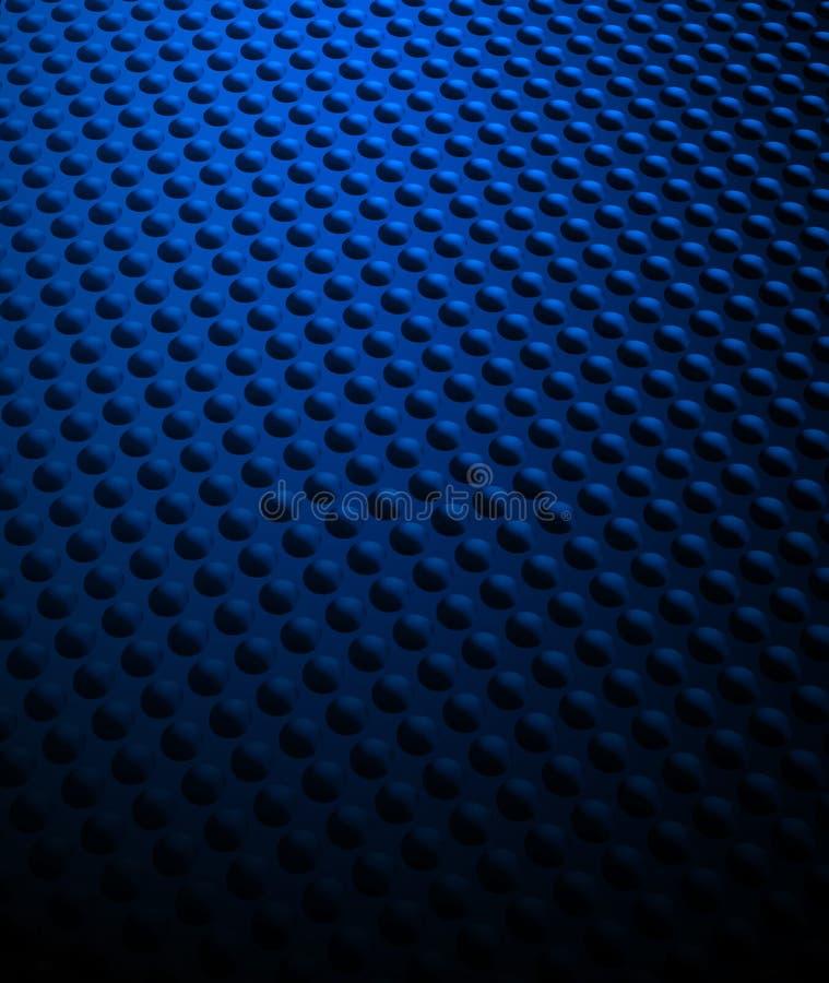 Blaues Stellenmuster vektor abbildung