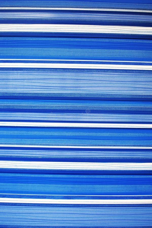 Blaues und weißes gestreiftes Fliesenmuster lizenzfreie stockfotografie