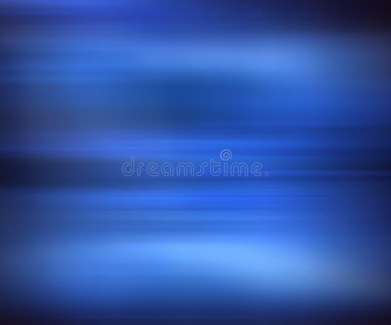 Blaues Unschärfe stock abbildung