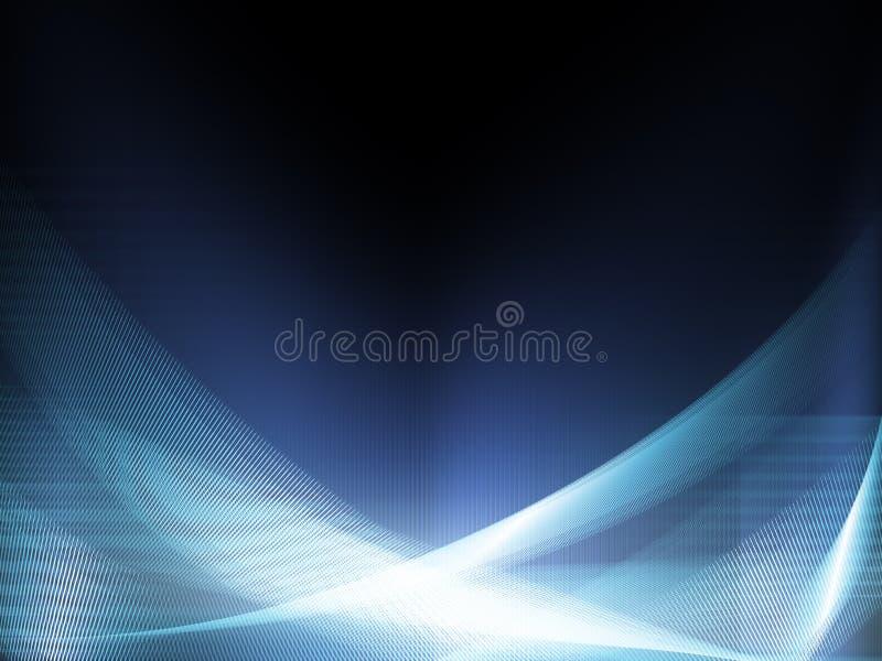 Blaues Web-Netz stockbilder