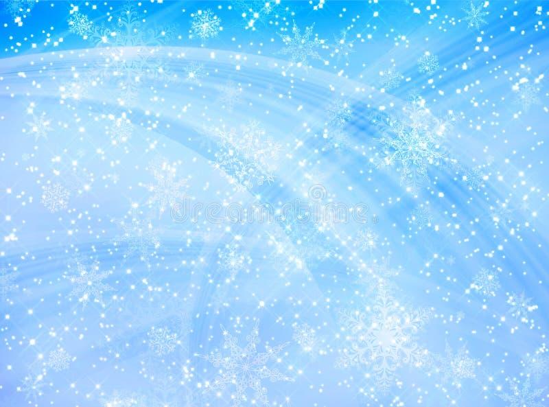 Blaues Weihnachtsmuster vektor abbildung