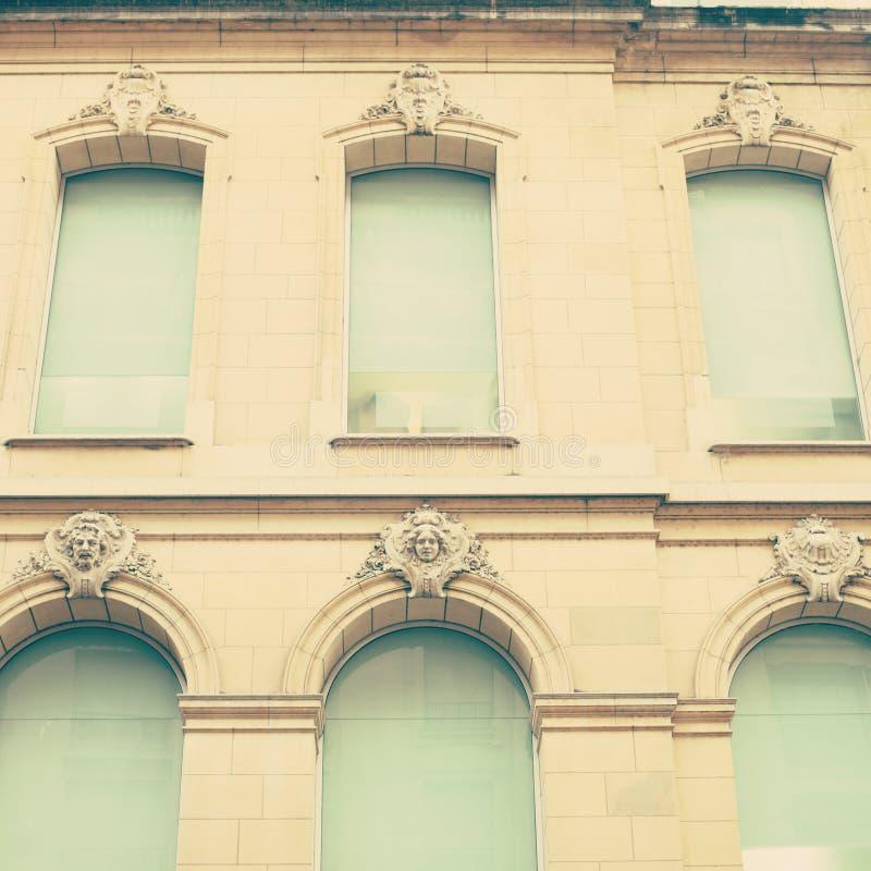Blaues Windows lizenzfreie stockfotografie