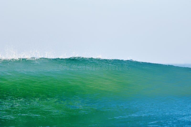 Blaugrüne Welle lizenzfreie stockbilder