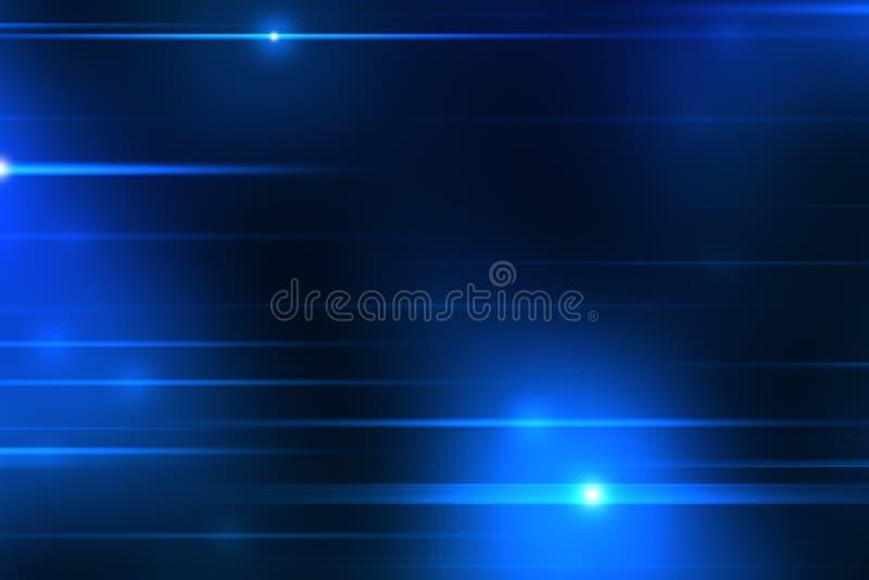 Blaulichtstreifenhintergrund lizenzfreie abbildung