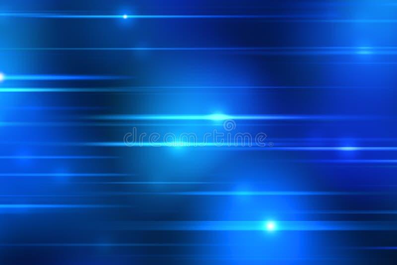 Blaulichtstreifenhintergrund stock abbildung