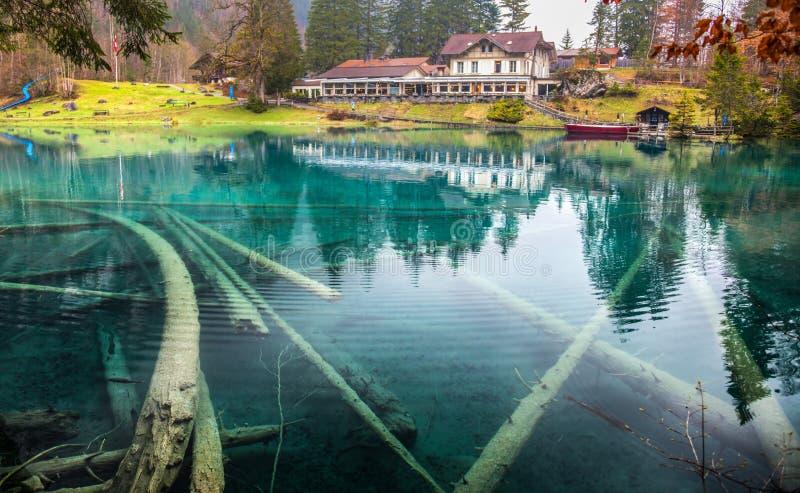 blausee schweiz download switzerland hotel forellenzucht iii editorial stock photo image of wetter