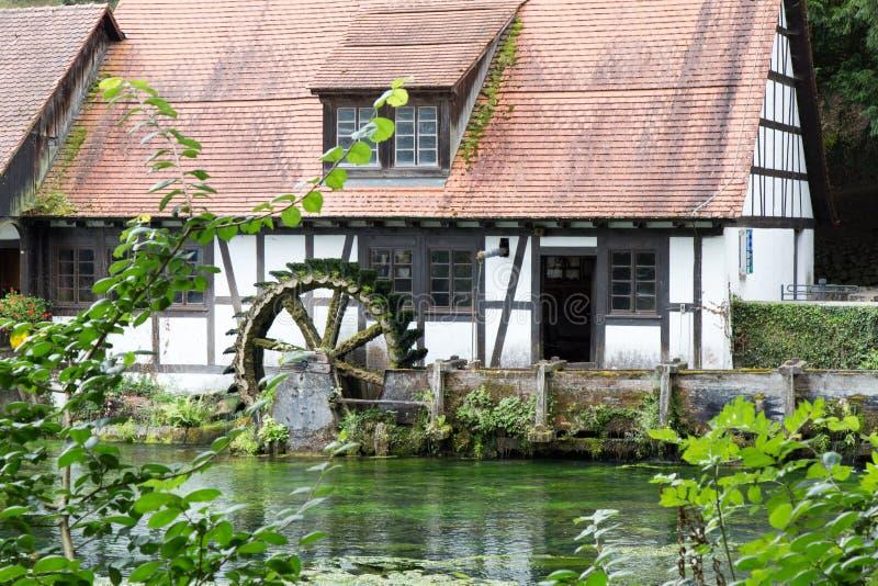 Blautopf in Blaubeuren immagini stock libere da diritti