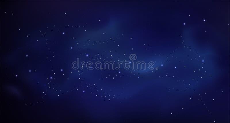Blauw abstract achtergrond vector kleurrijk patroonmalplaatje royalty-vrije stock afbeelding