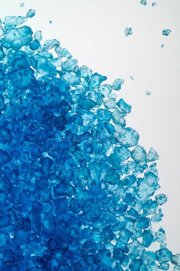 Blauw badzout op lichte lijst royalty-vrije stock afbeelding