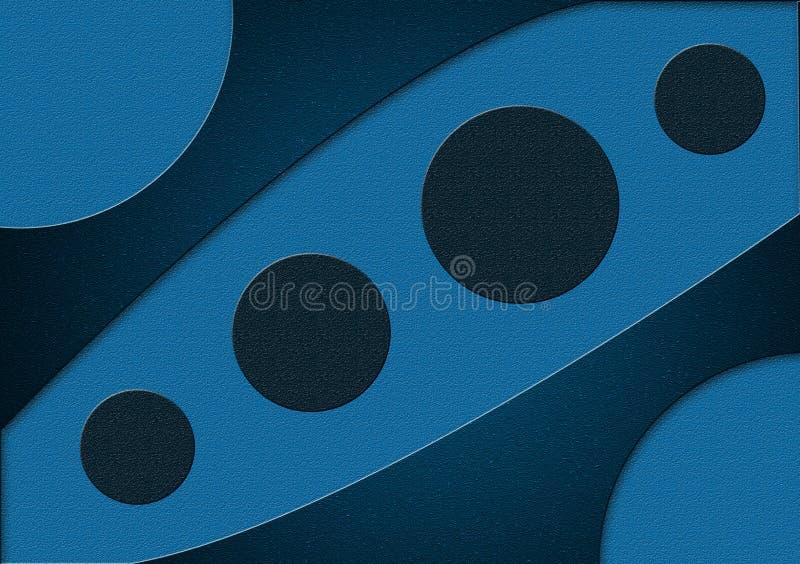 Blauw behang als achtergrond stock foto's