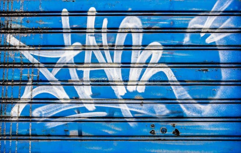 Blauw Blind stock afbeelding