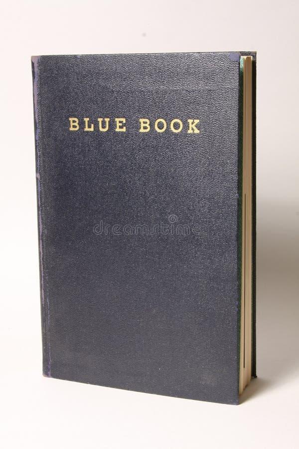 Blauw Boek stock afbeeldingen