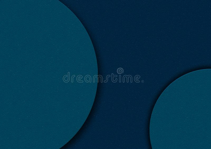 Blauw cirkel gestalte gegeven ontwerp als achtergrond voor behang vector illustratie