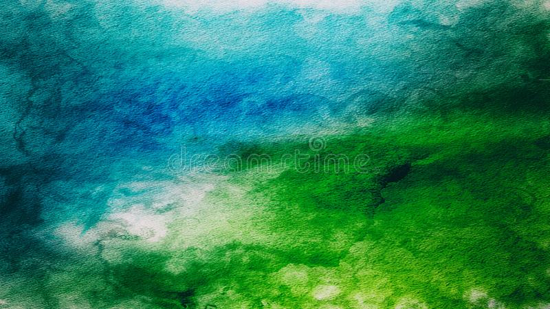 Blauw en Groen Achtergrondtextuurbeeld royalty-vrije stock fotografie