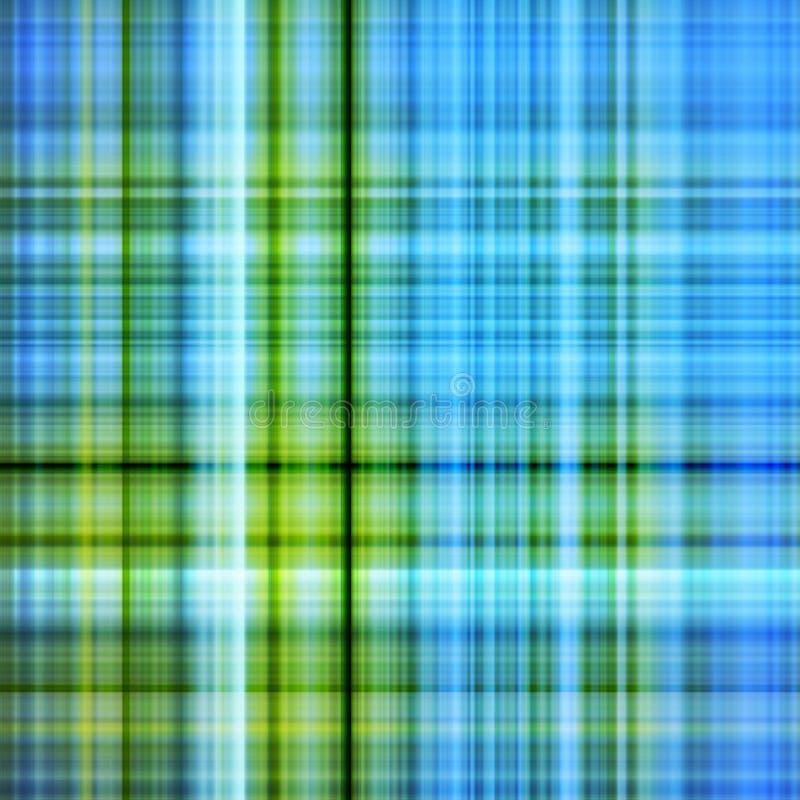Blauw en groen kleurenpatroon   royalty-vrije illustratie
