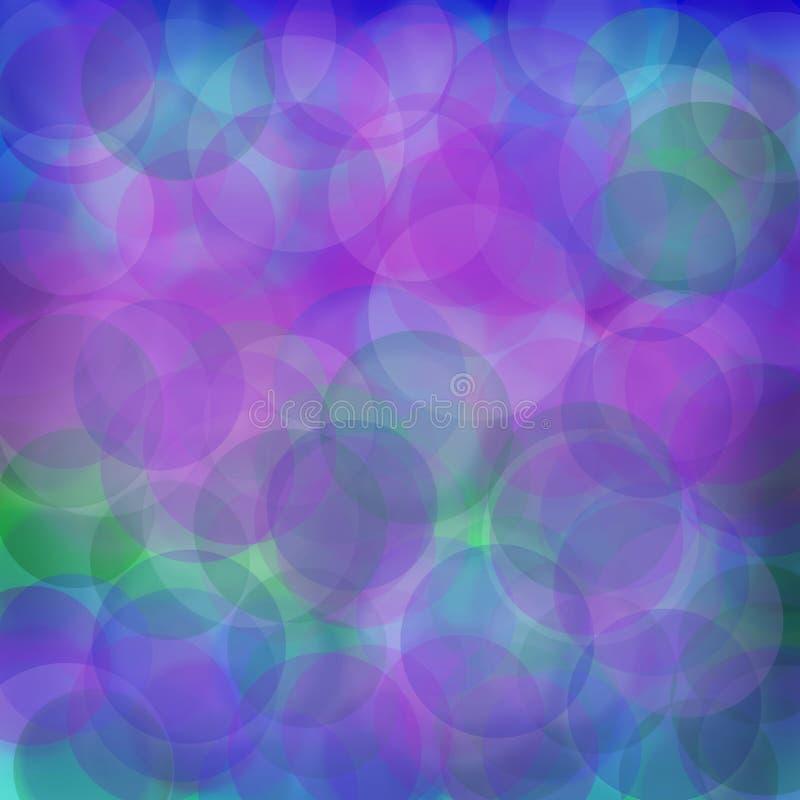 Blauw en groen onduidelijk beeld stock afbeeldingen