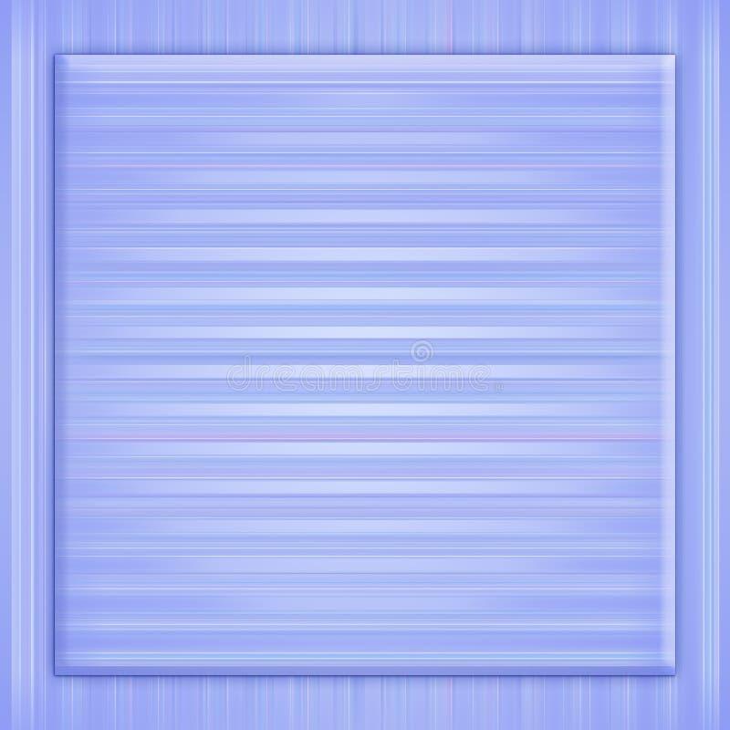 Blauw frame, achtergrond stock illustratie