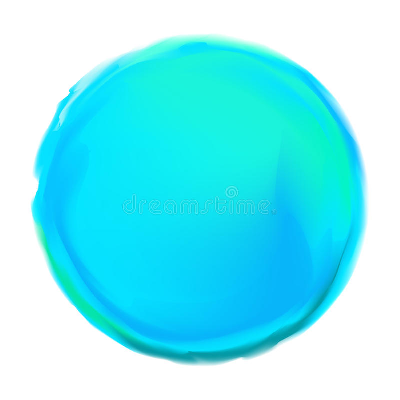 Blauw Geschilderd om Achtergrond royalty-vrije illustratie