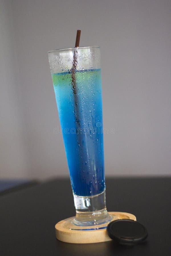 Blauw Hawaï stock afbeeldingen