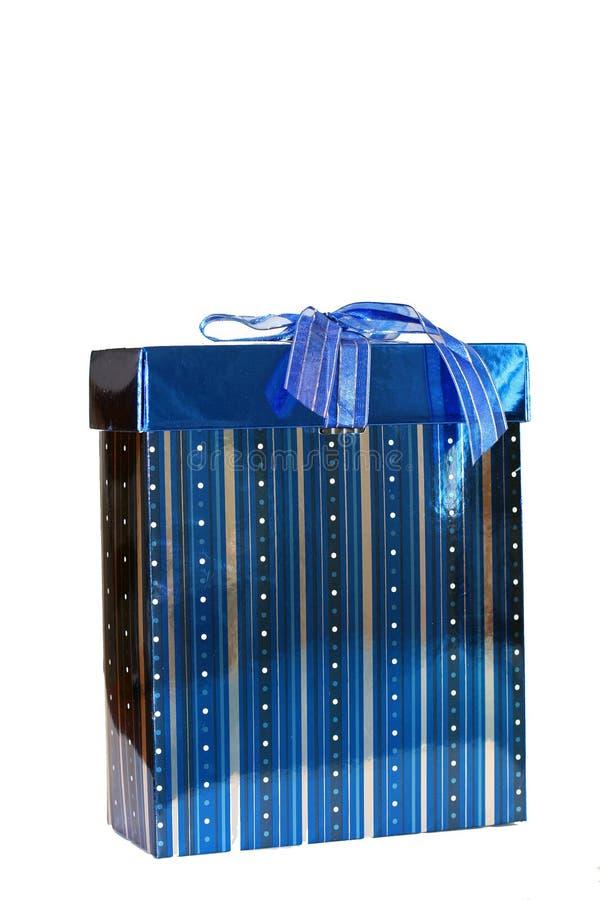 Blauw heden of gift stock fotografie