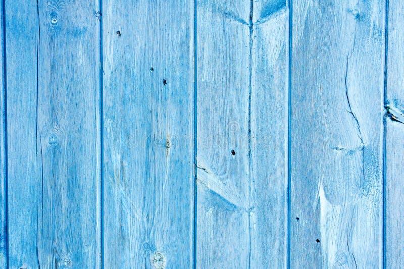 Blauw hout stock foto
