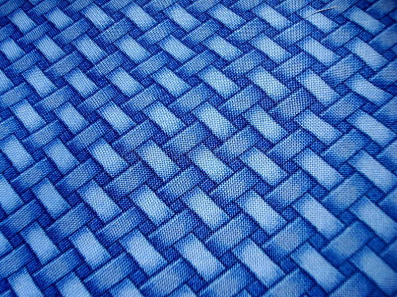 Blauw Kruisend Patroon stock illustratie