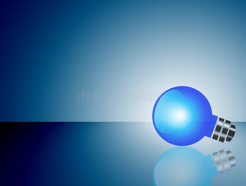 Download Blauw licht stock illustratie. Illustratie bestaande uit inspiratie - 10781244
