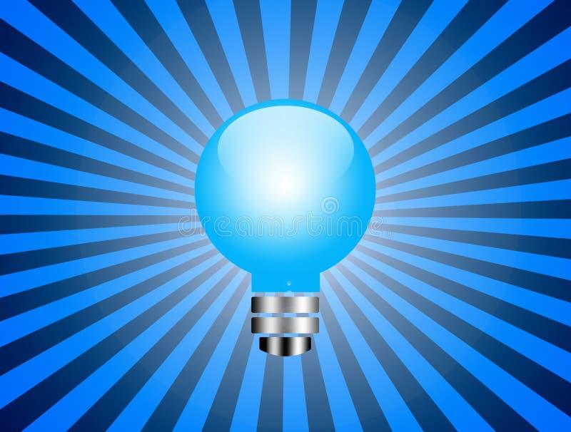 Download Blauw licht stock illustratie. Illustratie bestaande uit effect - 10781247