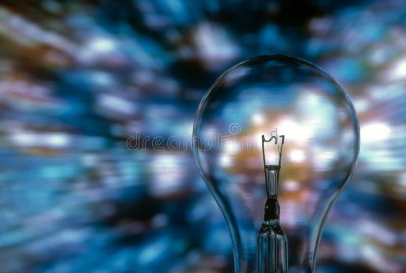 Blauw Licht stock foto's
