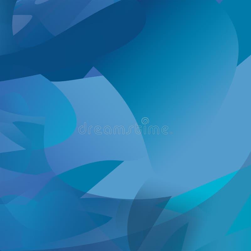 Blauw Licht royalty-vrije illustratie