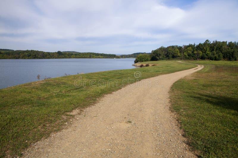 Blauw Marsh Lake royalty-vrije stock afbeeldingen