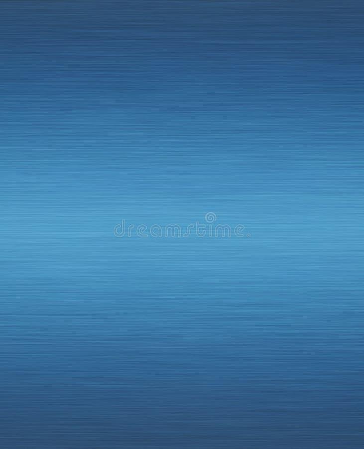 Blauw metaal stock fotografie