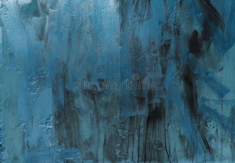 Blauw metaal, textuur stock fotografie