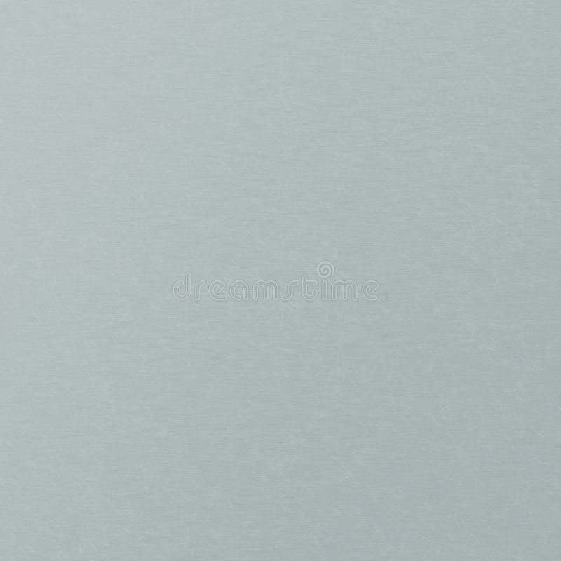 Blauw metaalblad royalty-vrije illustratie