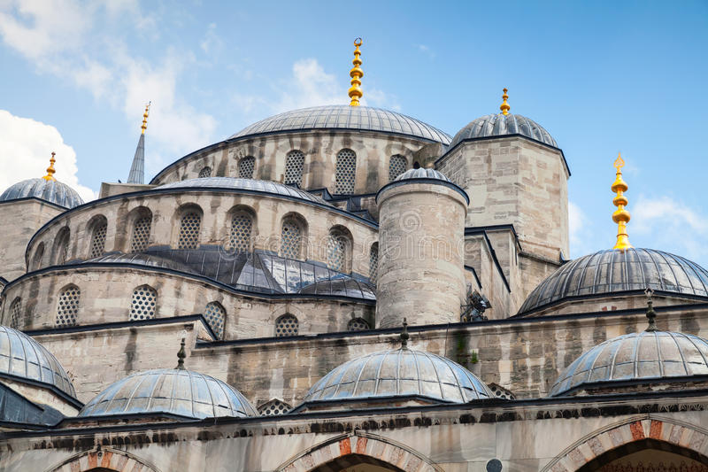 Blauw Moskee of Sultan Ahmed Mosque, Istanboel stock foto