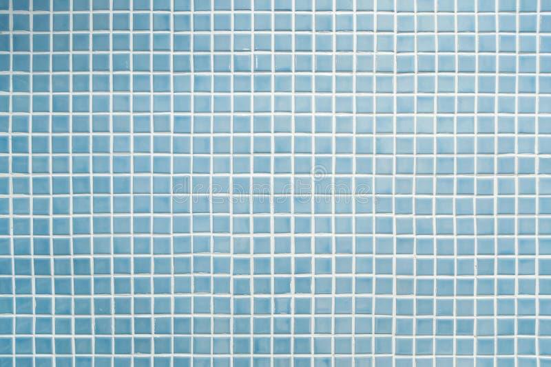 Blauw mozaïek stock fotografie