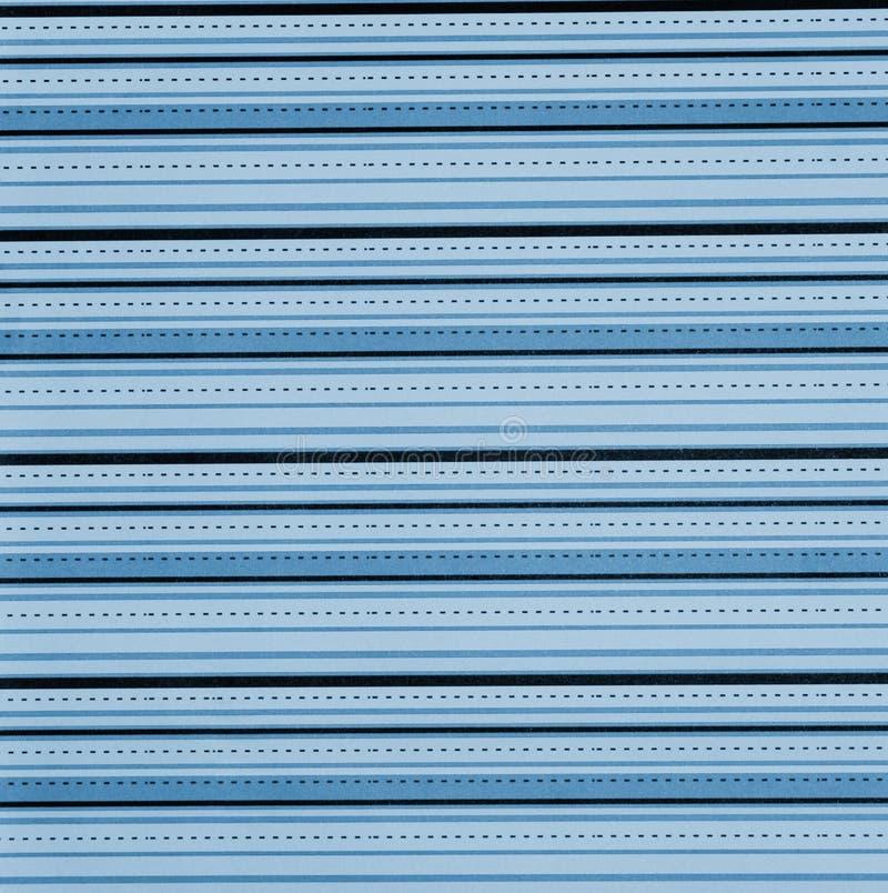 Blauw muurdocument stock foto