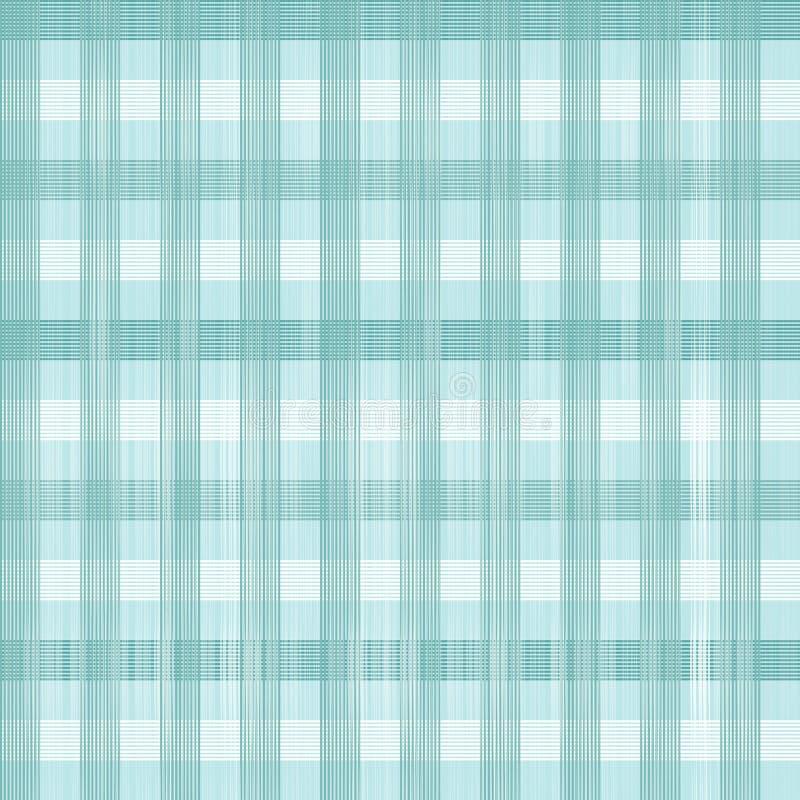 Blauw Naadloos Tafelkleedpatroon stock illustratie