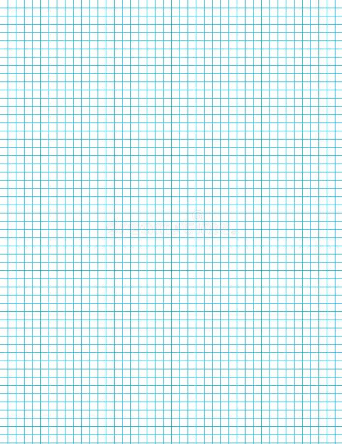 Blauw Net op Wit vector illustratie