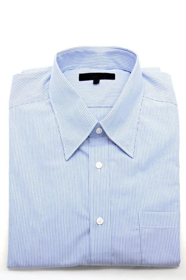 Blauw overhemd stock fotografie