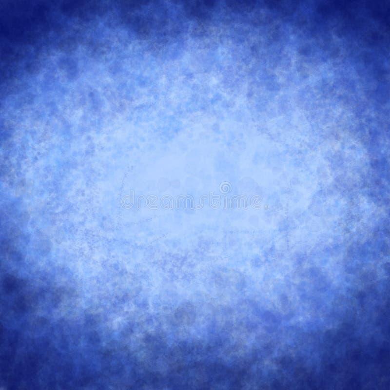 Blauw perkament royalty-vrije stock foto