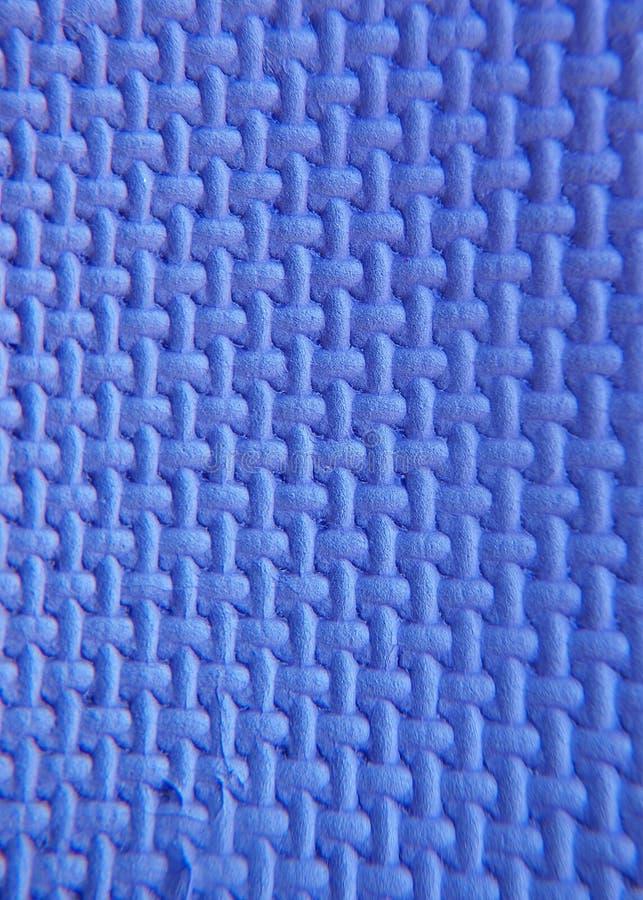 Blauw polystyreenschuim royalty-vrije stock afbeeldingen