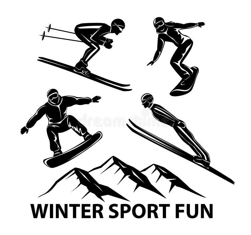 Blauw, raad die, pensionair, het inschepen, oefening, uiterste, pret, vlieger, kiteboard, kitesail, kitesurf, het kiting, meer, p stock illustratie