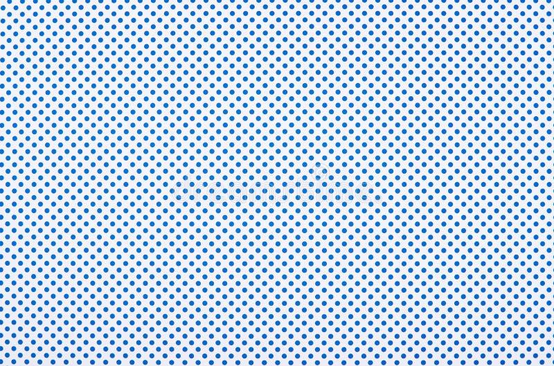 Blauw stippatroon royalty-vrije stock fotografie