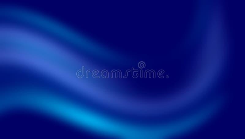 blauw vaag in de schaduw gesteld behang als achtergrond levendige kleuren vectorillustratie stock illustratie