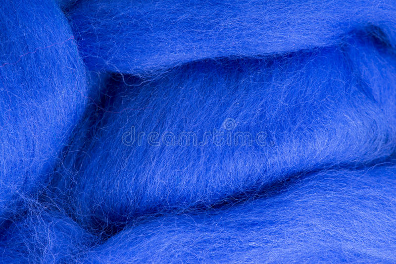 Blauw van de textuur het merinoswol stock afbeeldingen